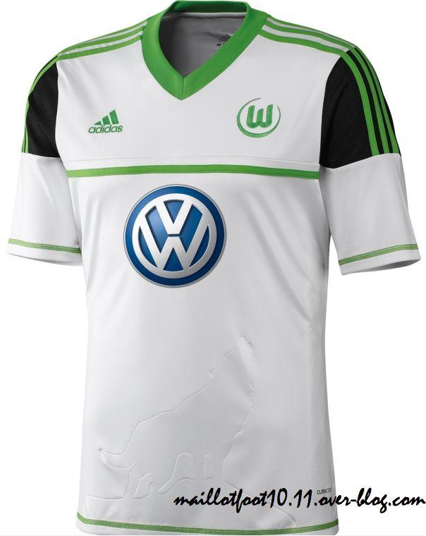 Wolfsburg auswartstrikot 2013