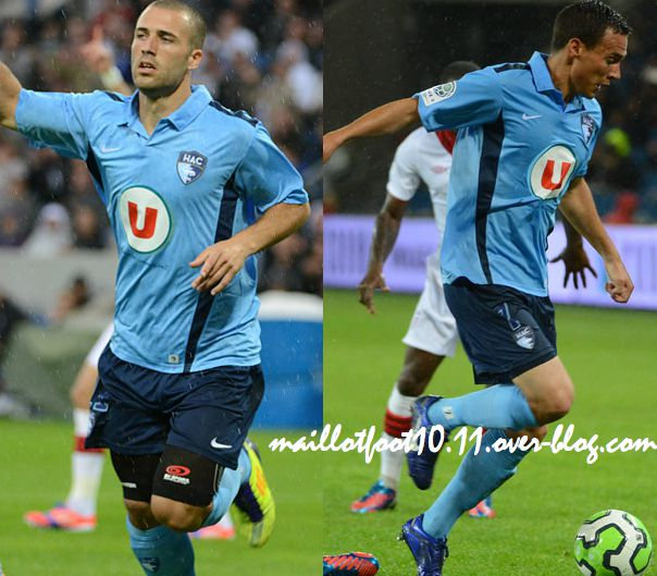 maillot 2013 havre nike