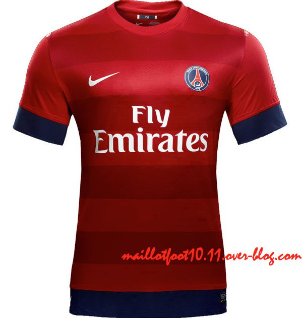 maillots 2012 2013 du psg. Black Bedroom Furniture Sets. Home Design Ideas