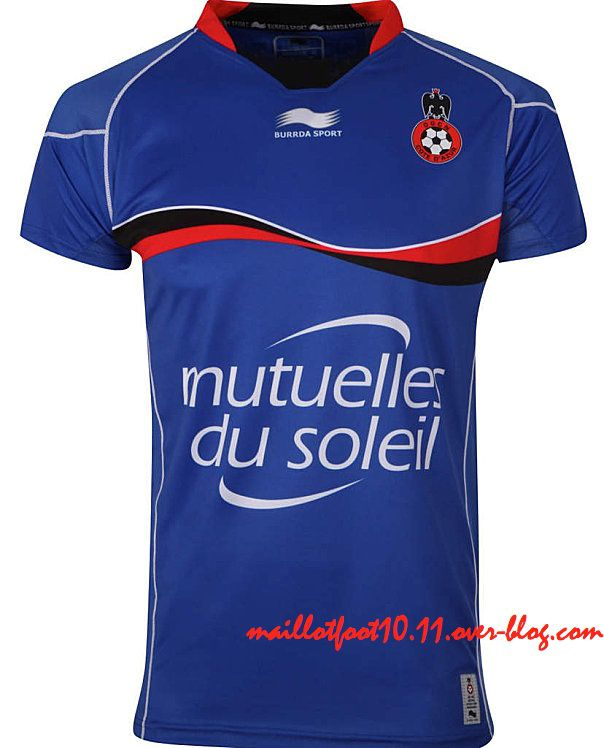maillot thurd nice 2013