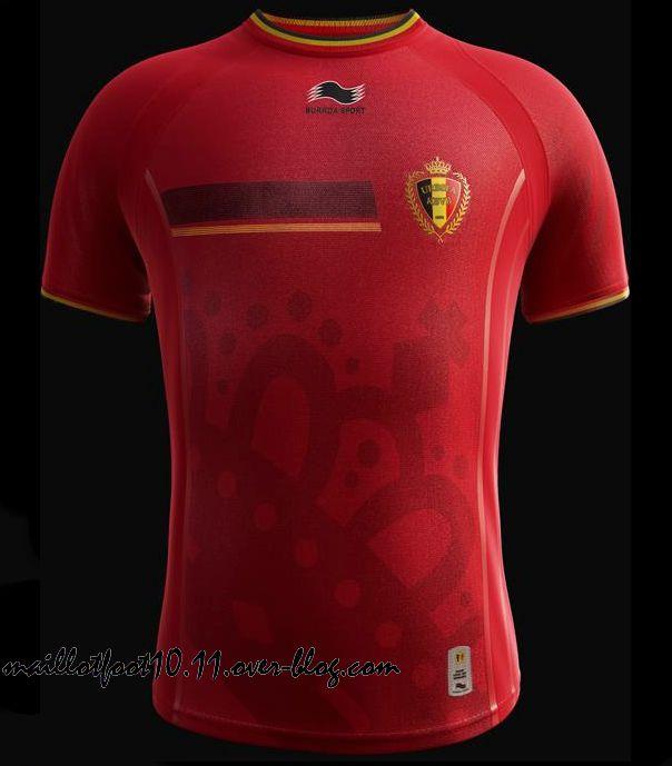maillot belgique coupe monde 2014