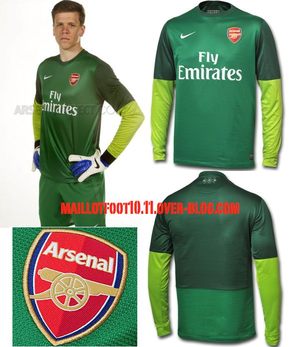 Maillots 2012 2013 arsenal for Arsenal maillot exterieur 2013
