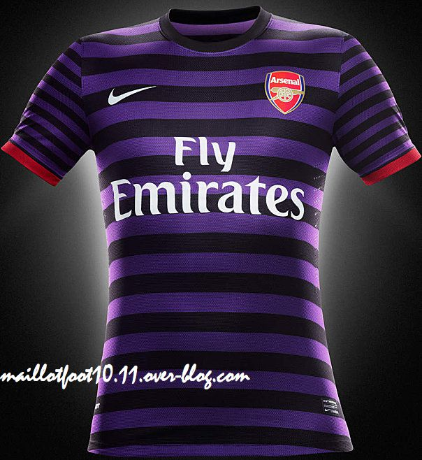 Maillot exterieur 2012 2013 arsenal for Maillot arsenal exterieur