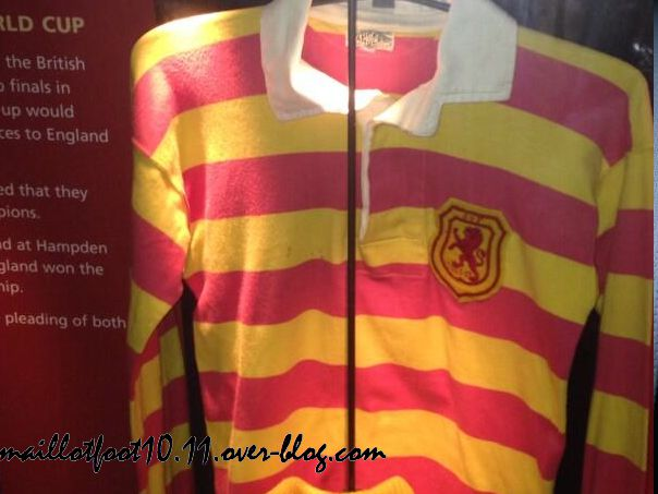 ecosse maillot 2014