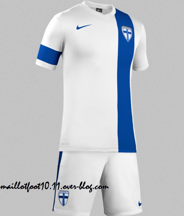 official photos incredible prices fashion FINLANDE : MAILLOT DOMICILE NIKE 2014/2015 - www ...