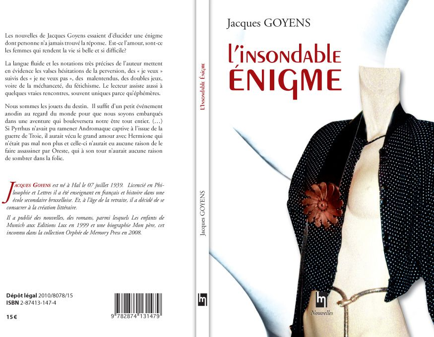 Jacques Goyens - L'insondable Enigme
