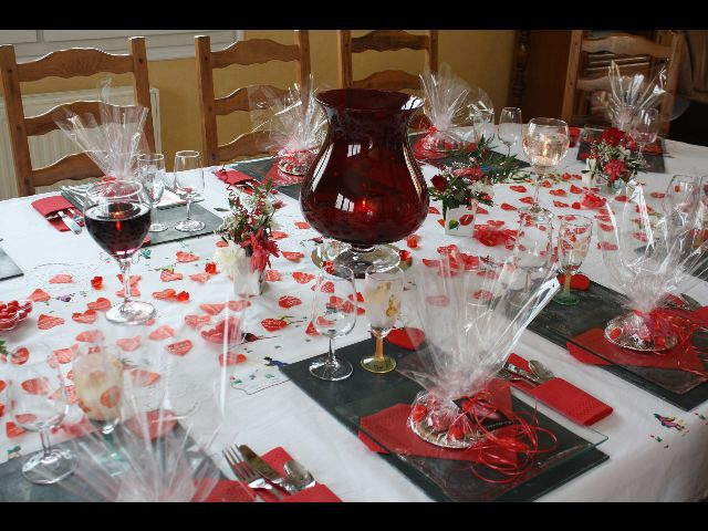 Deco de table saint valentin le blog de jo lle for Deco saint valentin