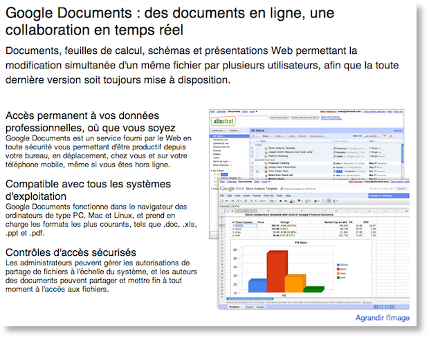 google apps docs