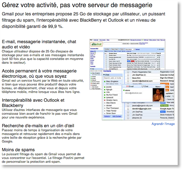 google apps gmail