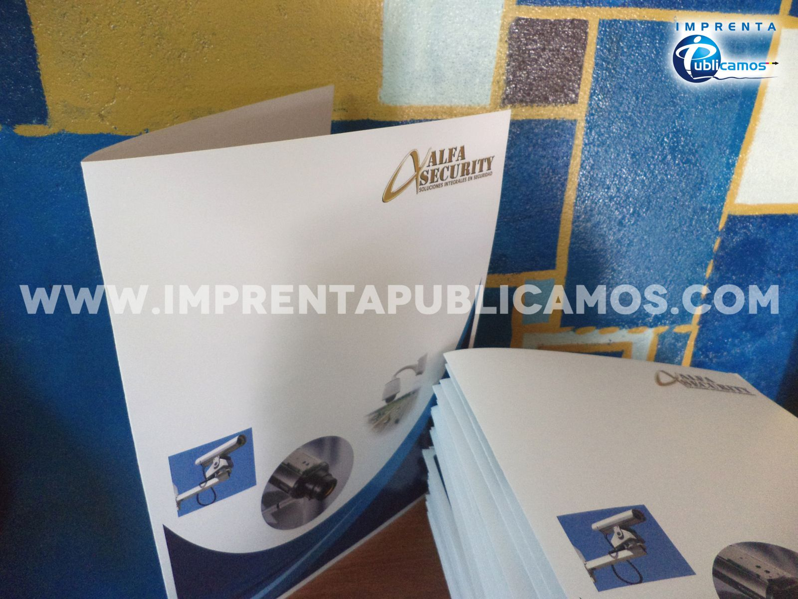 Carpetas Corporativas Todo Color / Correo: imprentapublicamos@gmail.com / Cel. y Whatsapp: +56985772933