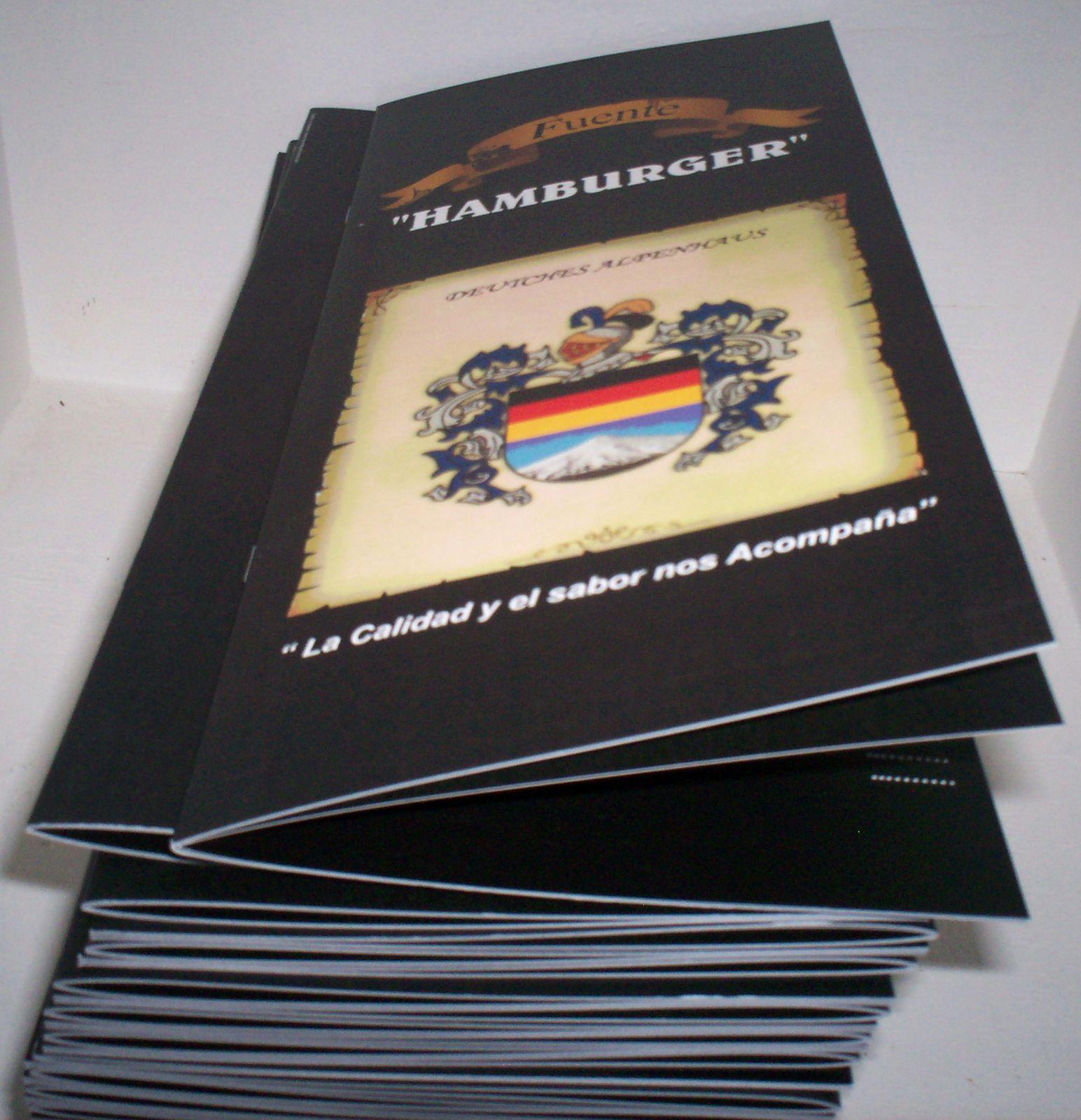 Dípticos, Trípticos, Catálogos