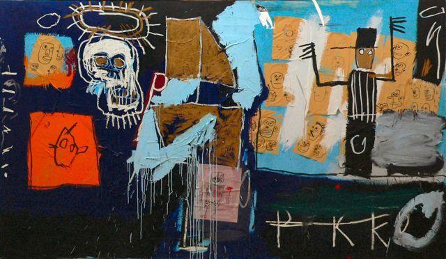 Jean-Michel Basquiat - Slave Auction - 1982