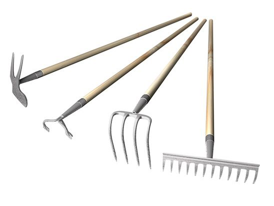 L 39 hiver des outils de jardin clg cr ation for Gardening tools list and their uses