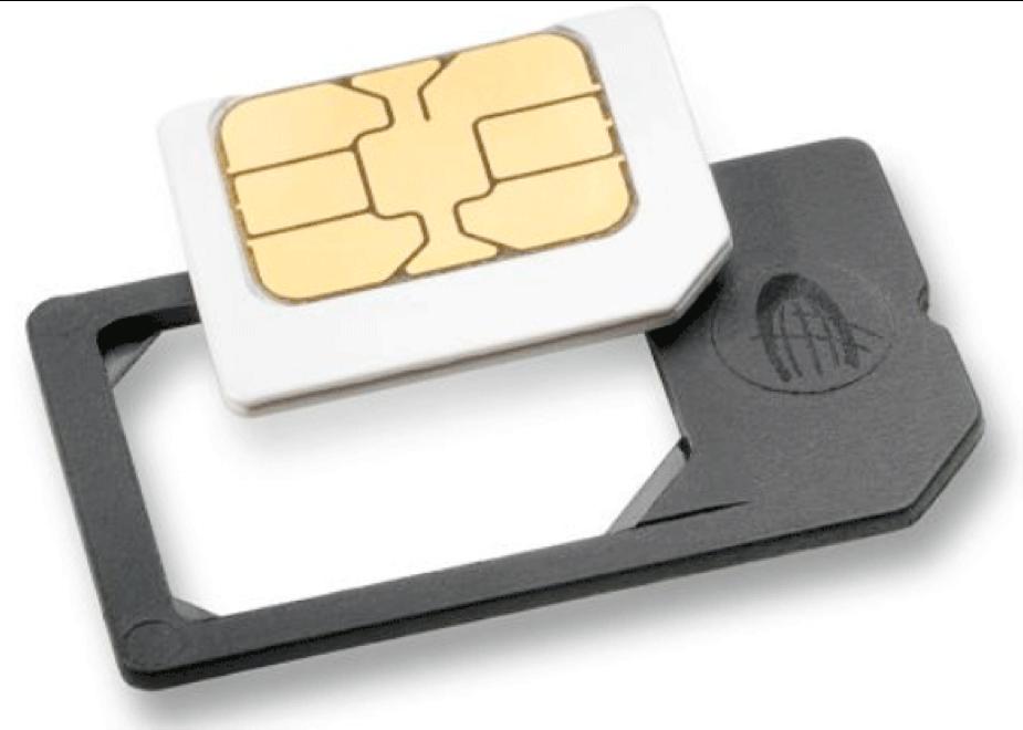 Adaptateur carte microSIM vers SIM