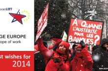best wishes for 2014 from the party of the european left