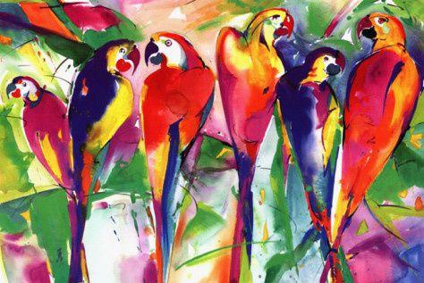 alfred-gockel-parrot-family.jpg
