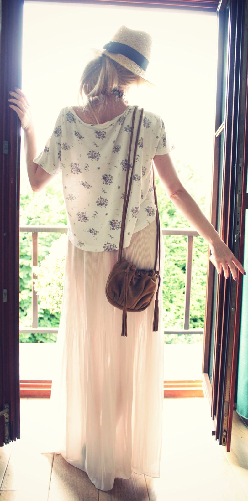 Maxi skirt romantic