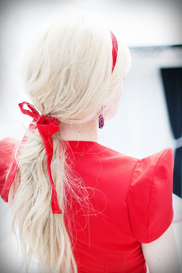 hair,style,valentine,day,love,red,headband,couture,dress