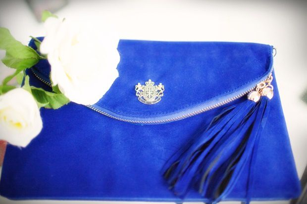 kate,Middelton,princess,royal,blue,clutch,velvet