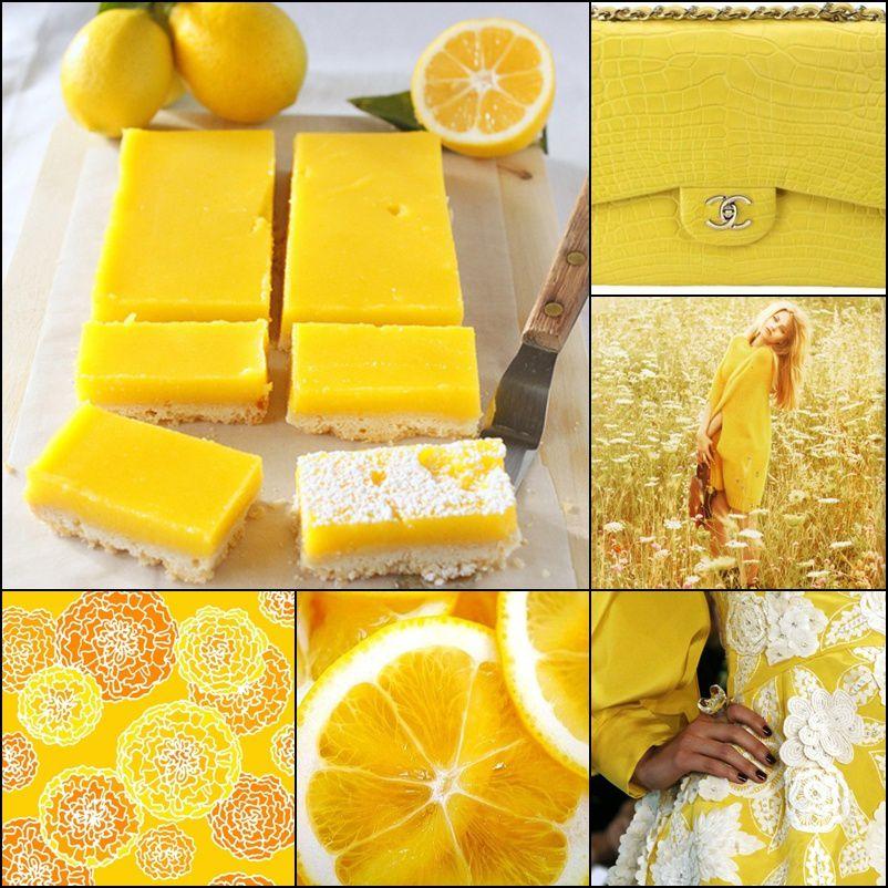 Chanel yellow bag