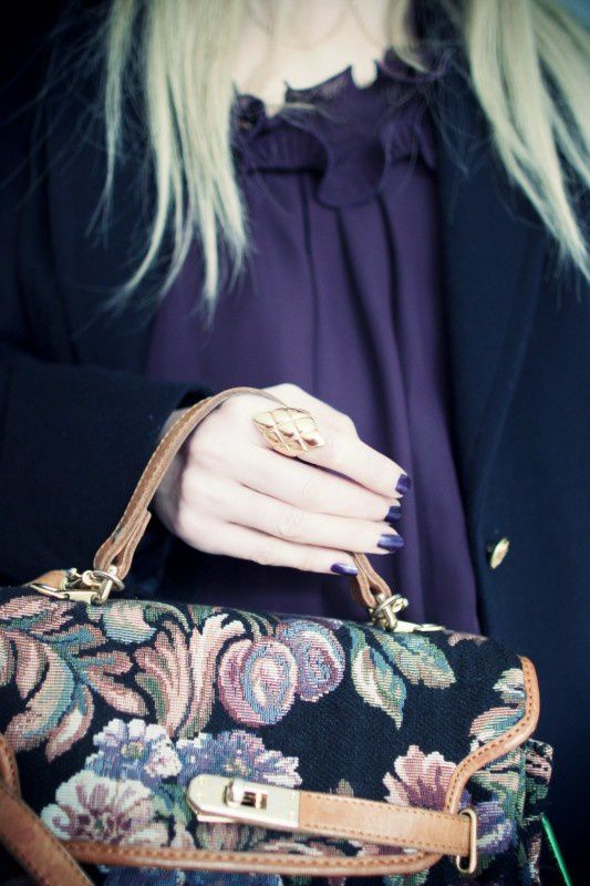 Ring Chanel-Coco-Hair-chain -gold-chanel