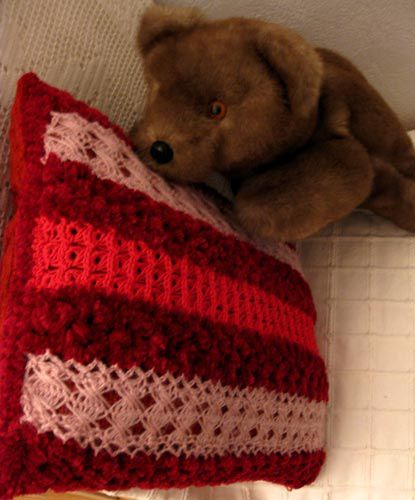 Coussin ours 1