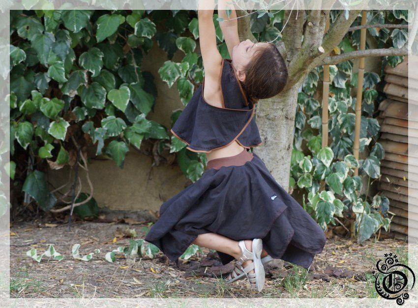 jupe marron de sorcière 3
