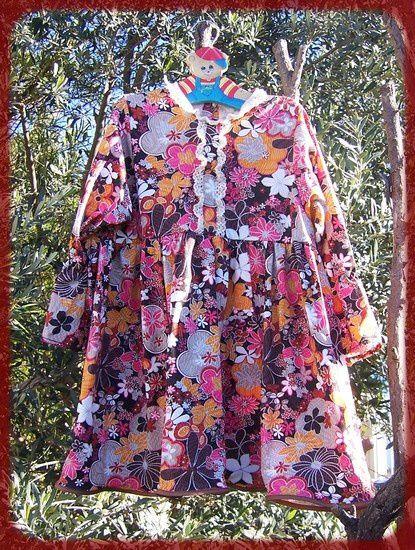 robe fleurie 3