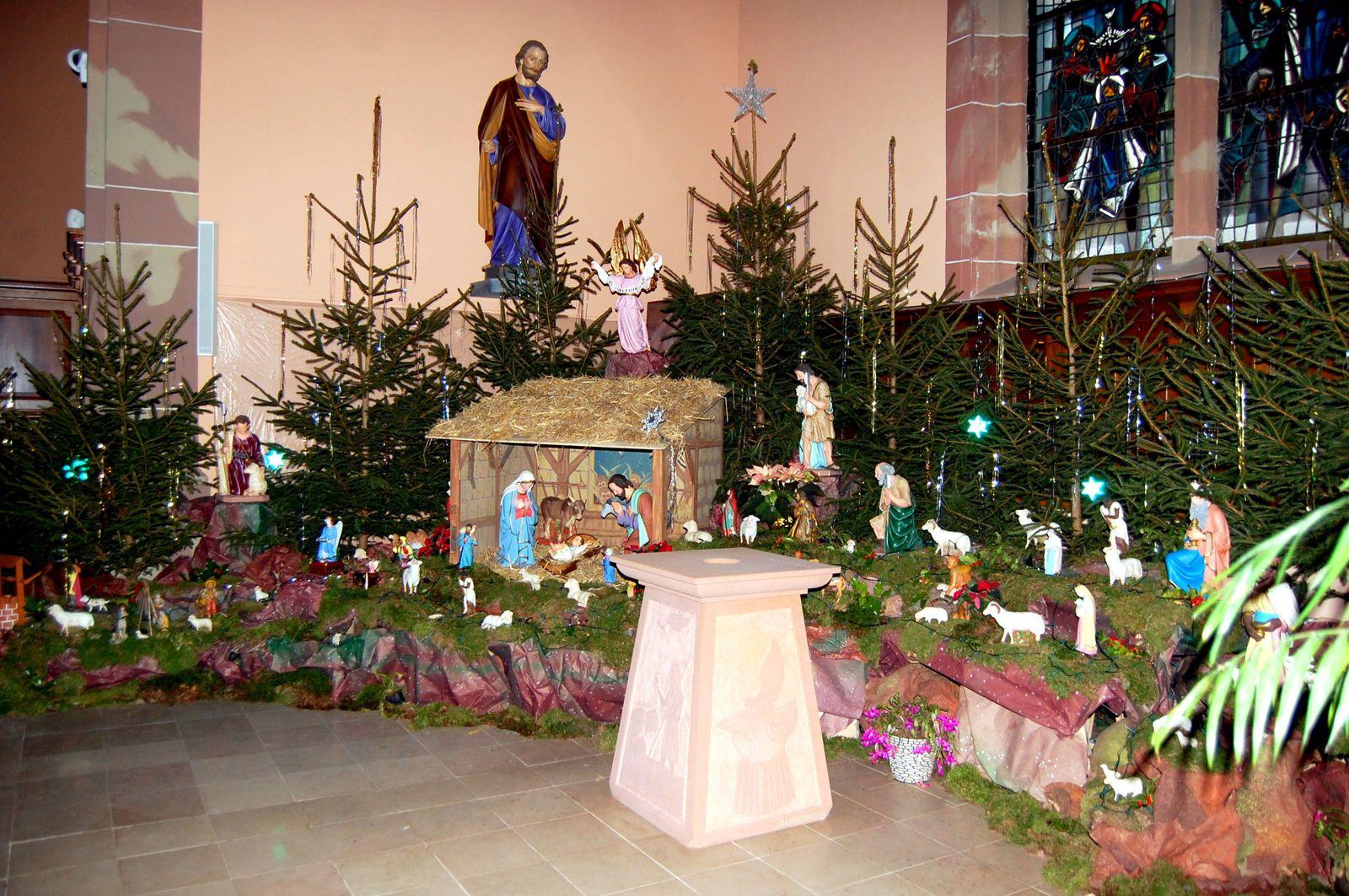 Blog de la communaut de paroisses st - Creche de noel en verre ...