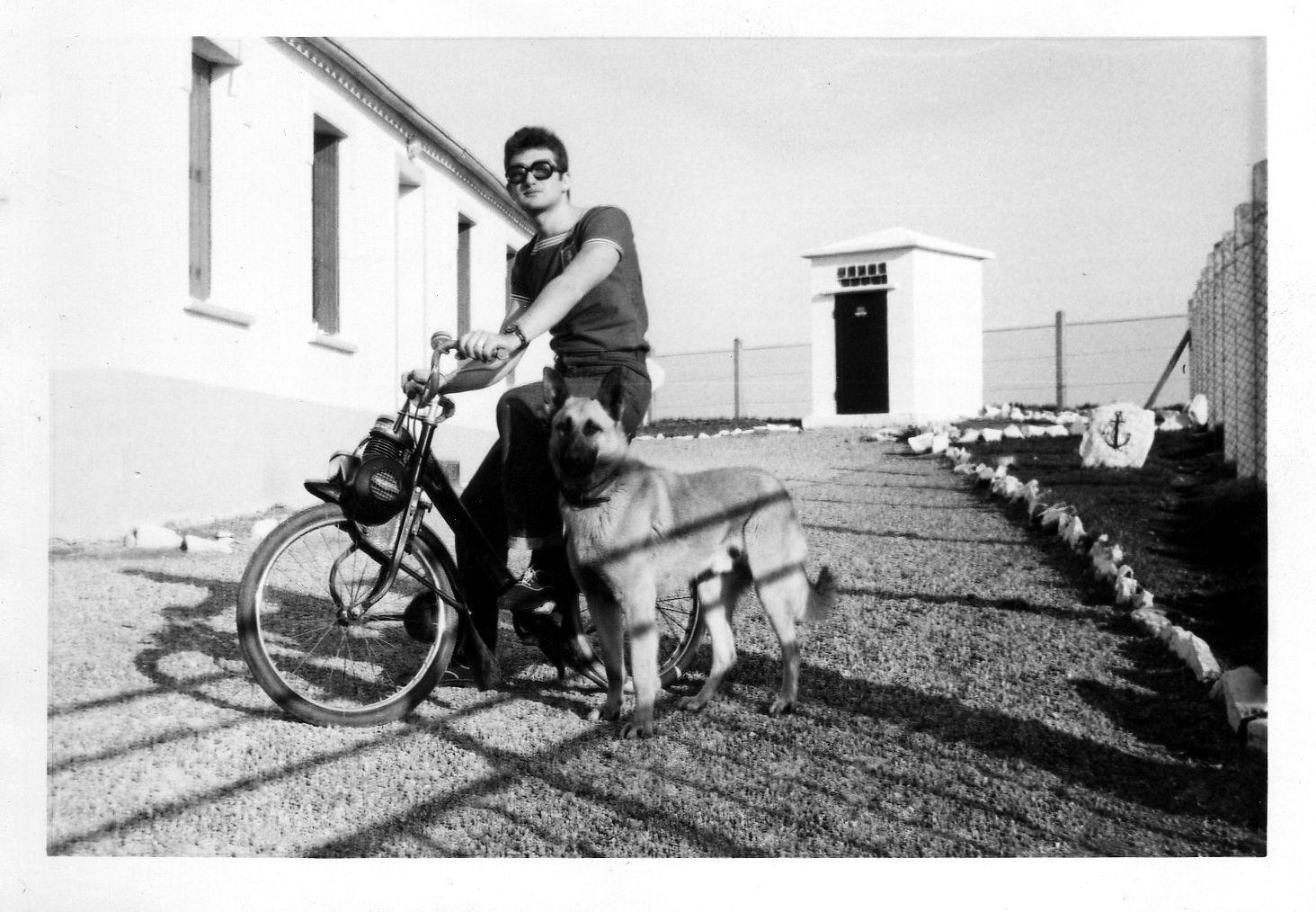 Station Marine de Brezellec Cap Sizun 1970