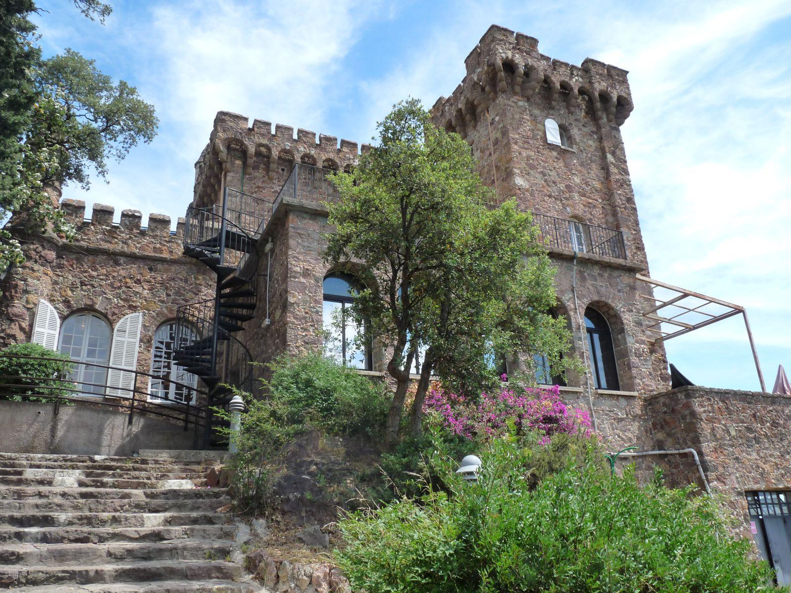 Nos vacances 2010 à La Napoule.Château d'Agecroft.