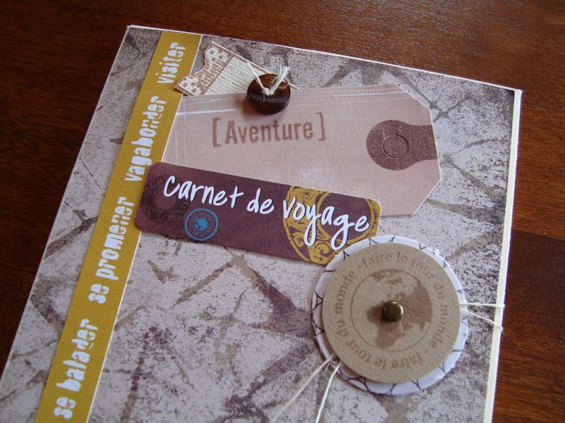 scrapbooking tuto carnet de voyage. Black Bedroom Furniture Sets. Home Design Ideas
