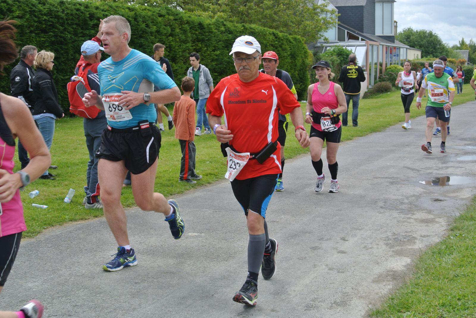 album marathon du mont michel 2014