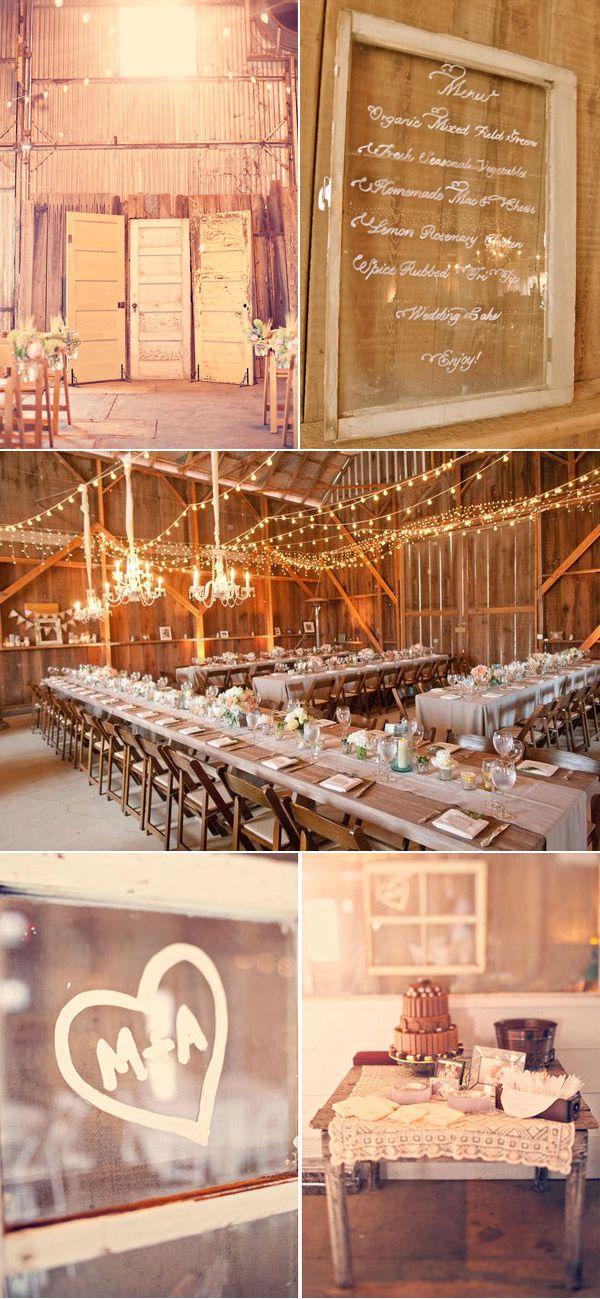 idée décoration mariage rustic chic
