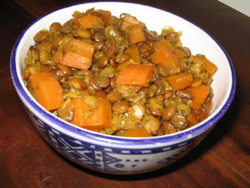 Lentilles aux carottes paprikas - Que cuisiner avec des carottes ...