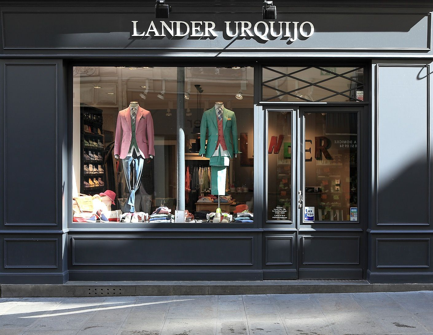 Lander urquijo advel l 39 art de vivre l gamment - Esprit magasin paris ...