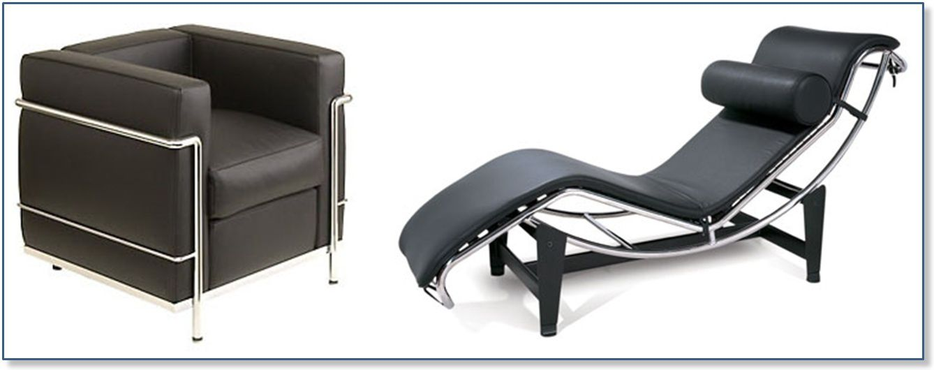 le corbusier 2 2 advel l 39 art de vivre l gamment. Black Bedroom Furniture Sets. Home Design Ideas