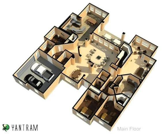 What are the benefits of 3d floor plan and 3d cgi 3d 3d architectural floor plans