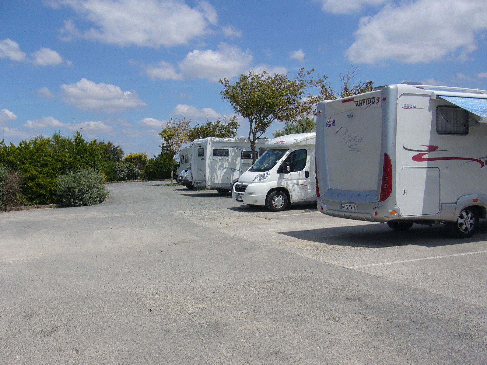 Roses Camping Pour Camping Car Decembre