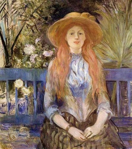 10 Berthe Morisot (1841-1895). On a Bench