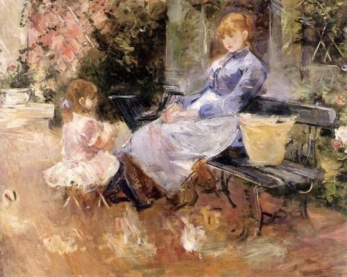 Berthe Morisot (1841-1895). The Fable
