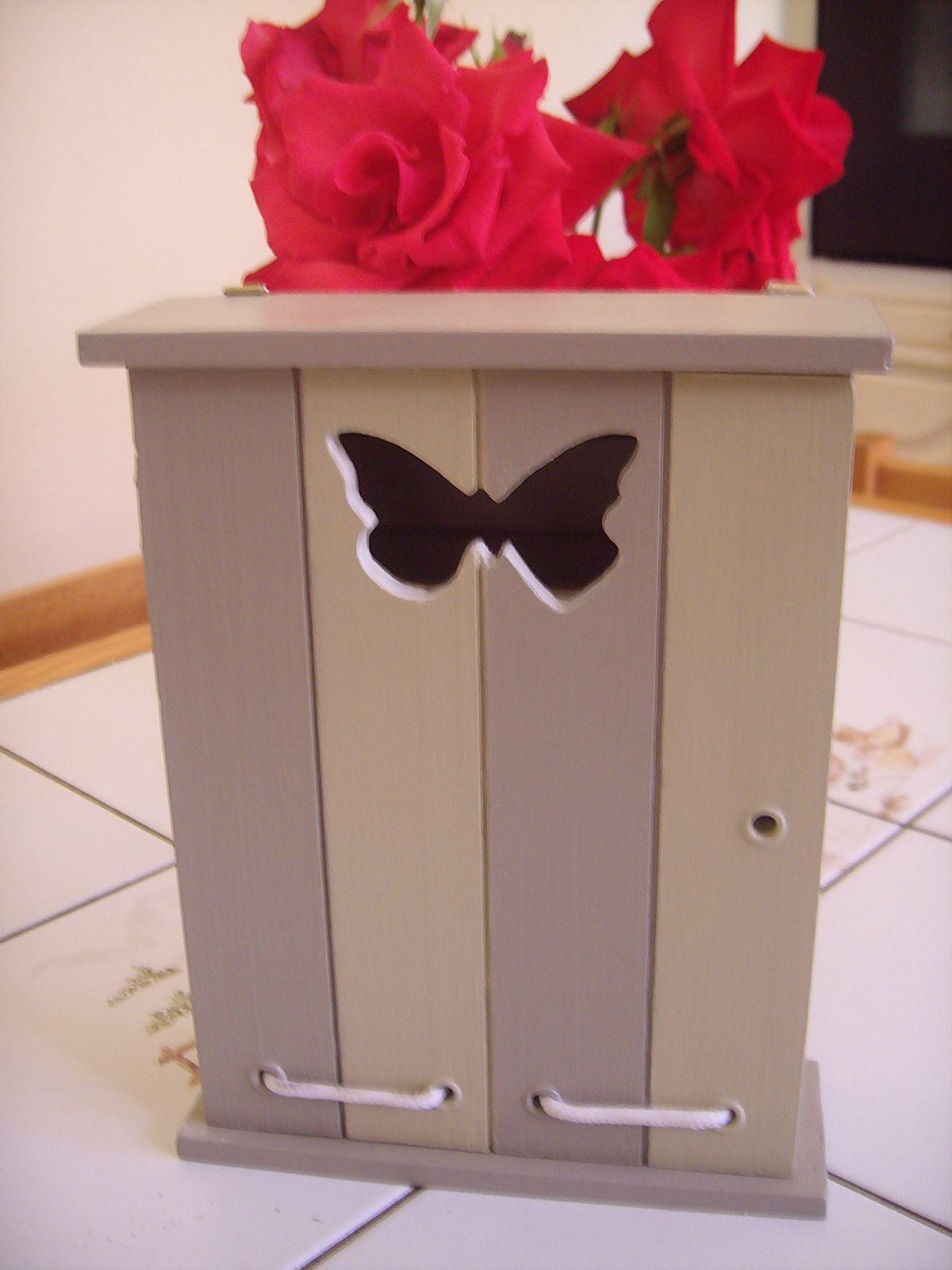une bo te clefs douceur sucr e. Black Bedroom Furniture Sets. Home Design Ideas