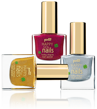 p2 happy new nails collection