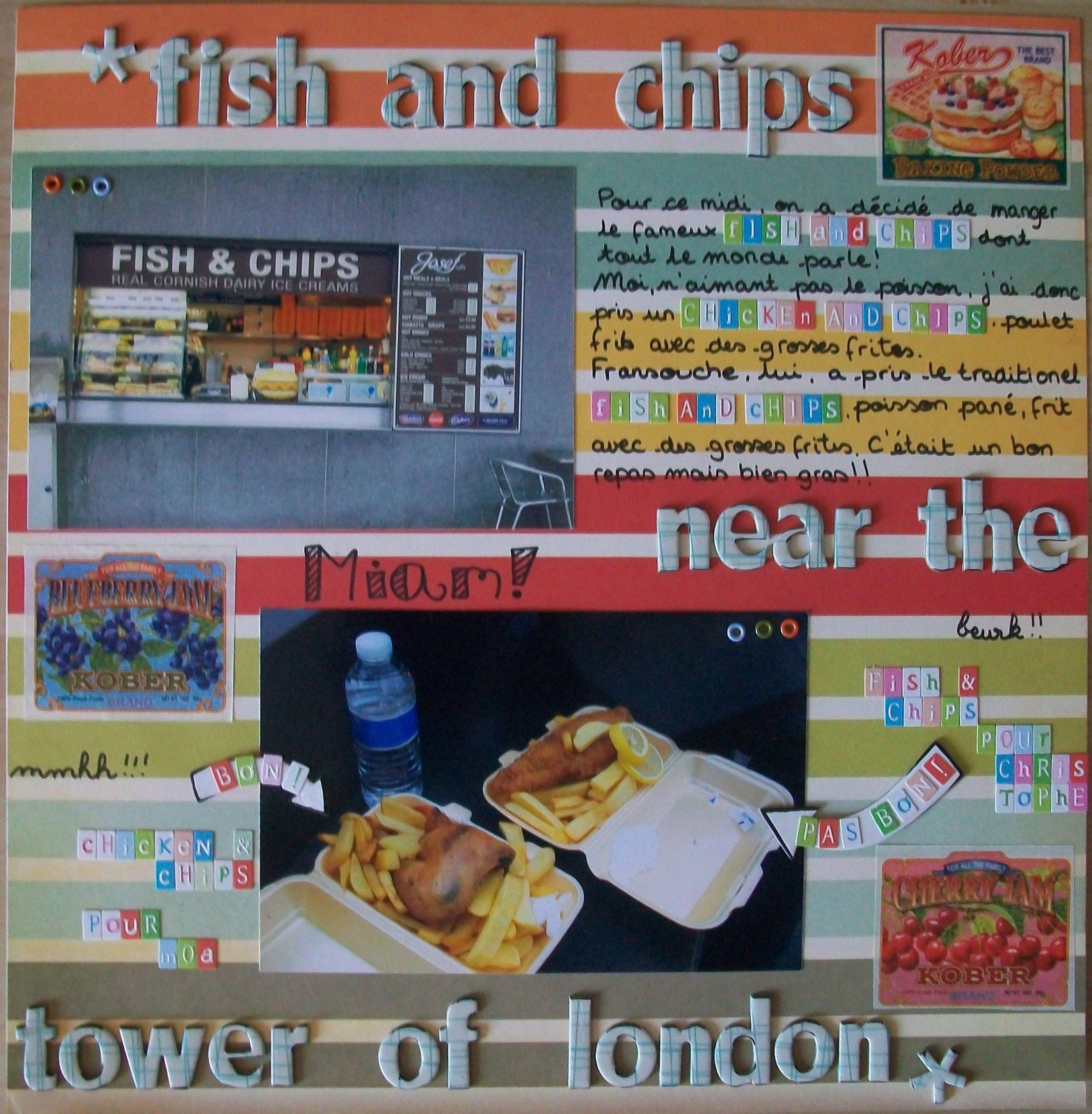 Fish and chips near the tower of london les petits for Fish chips near me
