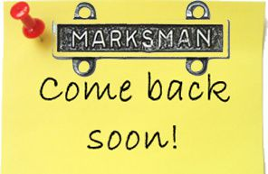 come back soon post-it-marksman