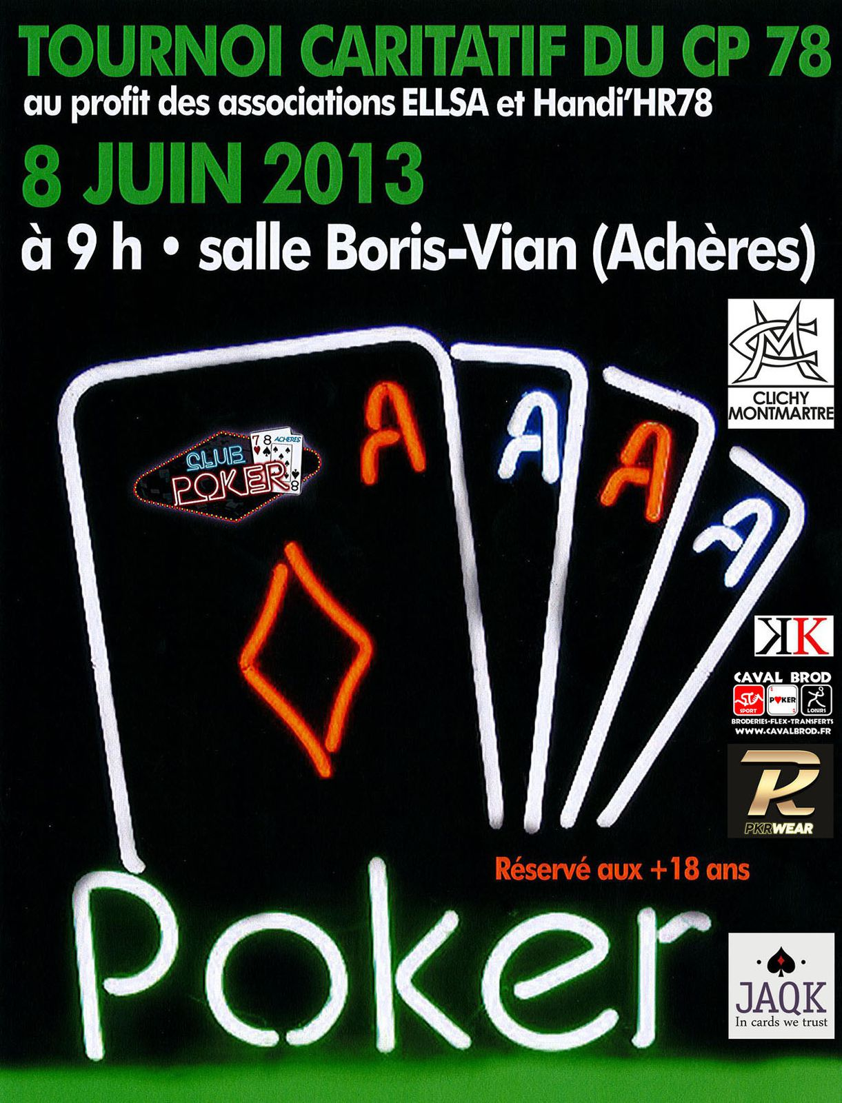Affiche du tournoi
