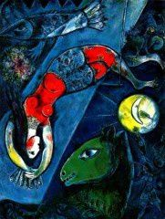 Chagall cheval