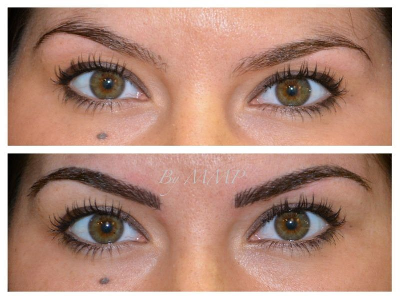 Maquillage permanent sourcils accueil design et mobilier - Maquillage permanent sourcil poil poil ...
