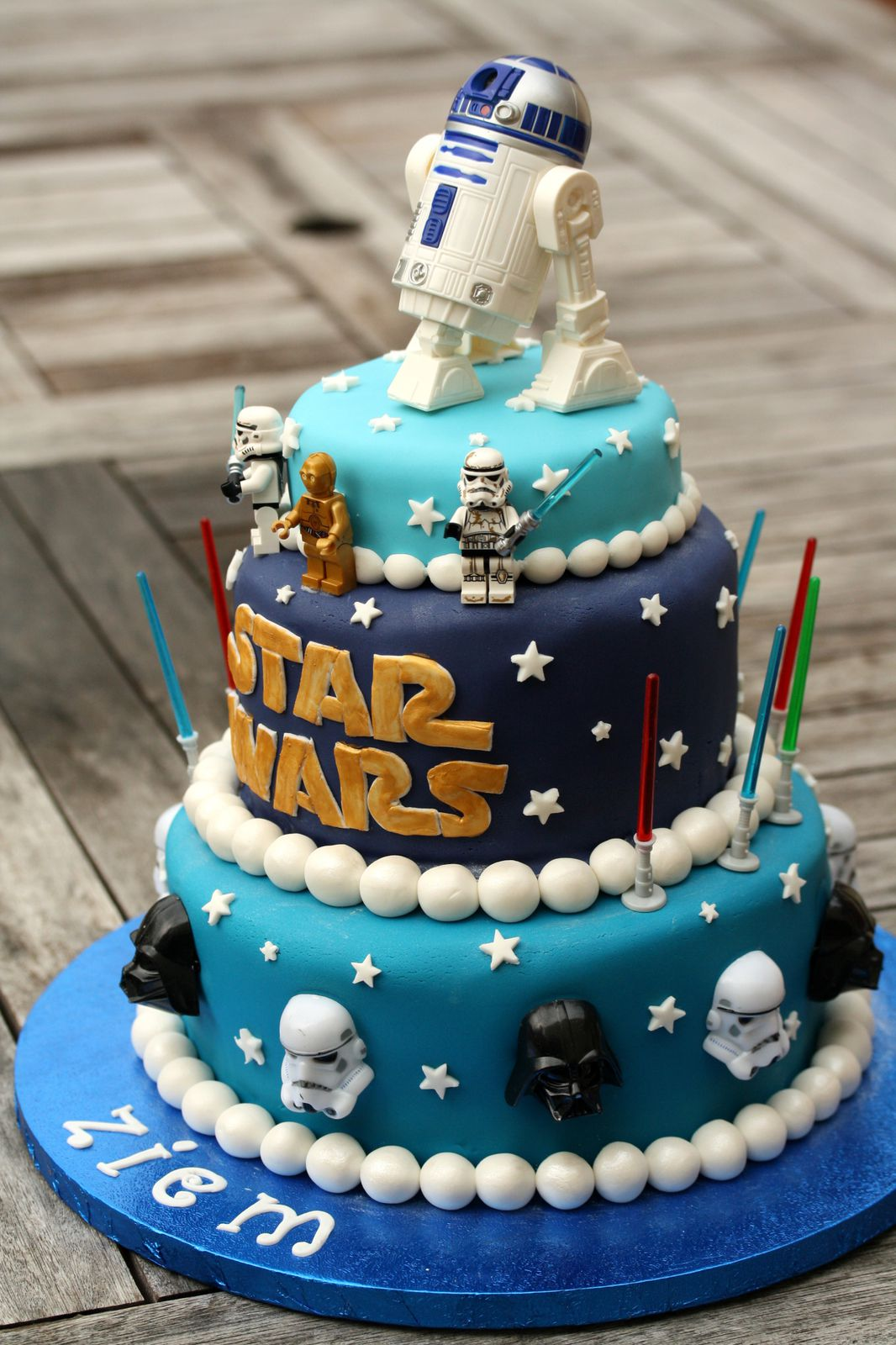 decoration gateau star wars