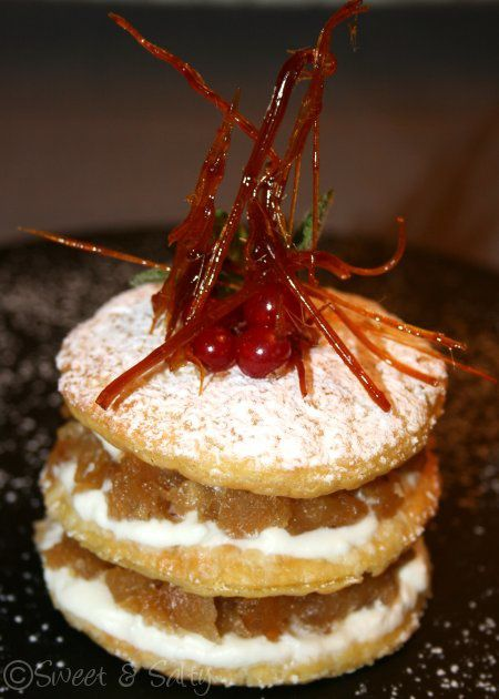 millefeuille pommechantilly 1